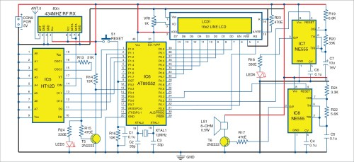 small resolution of wireless security system using pir sensors