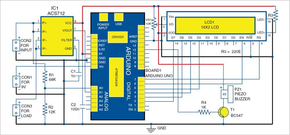 medium resolution of dc panel meter using arduino