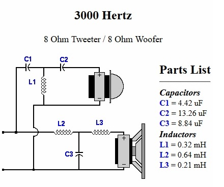 Speaker Protection Circuit Pcb in addition MAIN furthermore Seas A26 10 2 Way Kit Pair Based On The Classic A25 furthermore Crossover Design Using Online Crossover Calculator together with Content php. on tweeter schematic