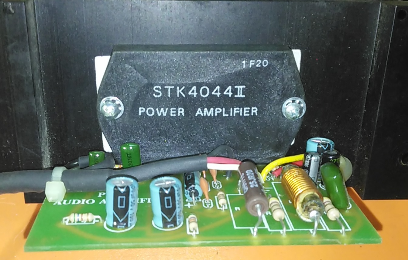 How To Make An Amplifier 200 Watts Using Stk4141 With Diagram 18w Circuit Ha13118