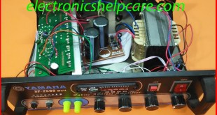 how to make transistor audio amplifier