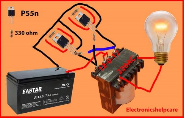 how to make inverter generator