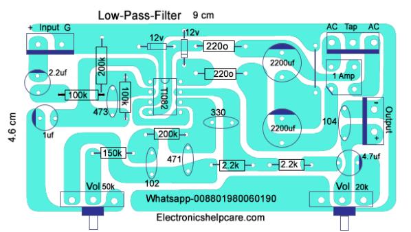 Layout Pcb Low Pass Filter - PCB Circuits