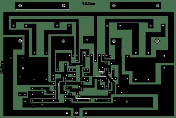 2n3055 Amplifier Circuit Diagram 200 Watts