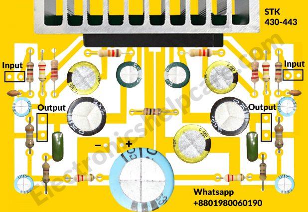 STK430-443 circuit diagram