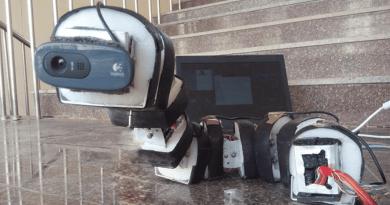 Snake Robot Arduino