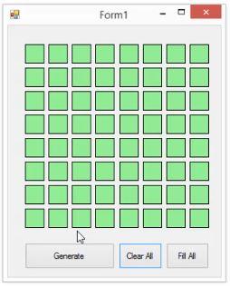 pixel to matrix