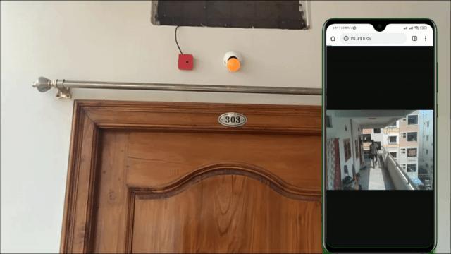 Output_DIY Surveillance camera with ESP32 CAM
