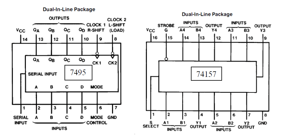 8 To 1 Mux Diagram 8 To 1 Multiplexer Using NAND Gate