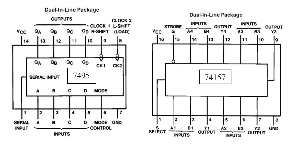xor gates 7486 chip