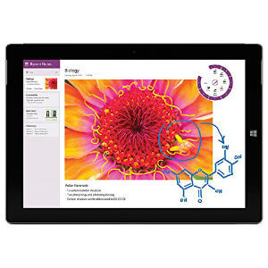 Microsoft Surface 3 Table 1