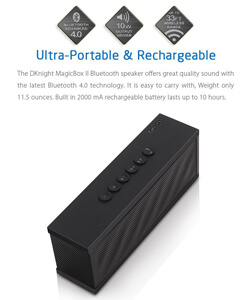 DKnight MagicBox II Bluetooth 4.0 Portable Wireless Speaker 2