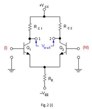 What is a differential amplifier.