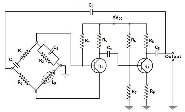 circuit notes the circuit is a standard rc phase shift