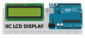 IIC LCD DISPLAY for arduino
