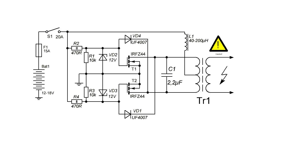 make induction heater easily electronics projects hubinduction heater circuit