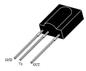 pin out of tsop1738
