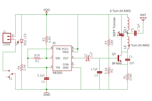 cell phone signal jammer circuit