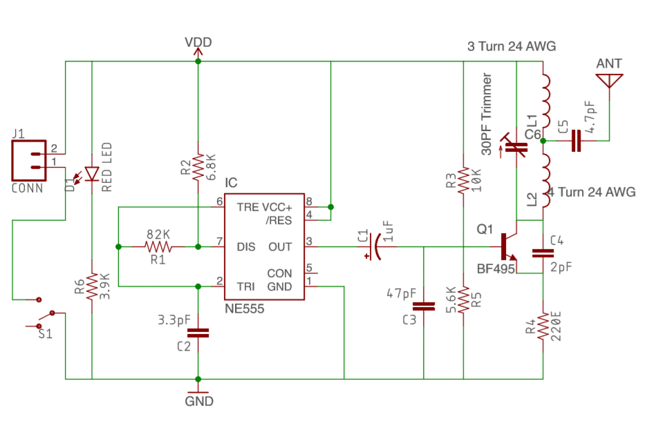how to make cell phone signal jammer electronics projects hub rh electronicsprojectshub com gsm jammer circuit diagram emp jammer circuit diagram