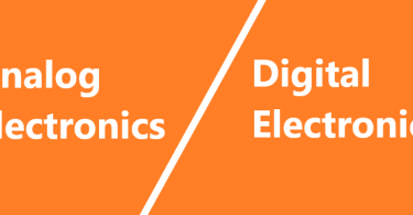 analog electronics and digital electronics