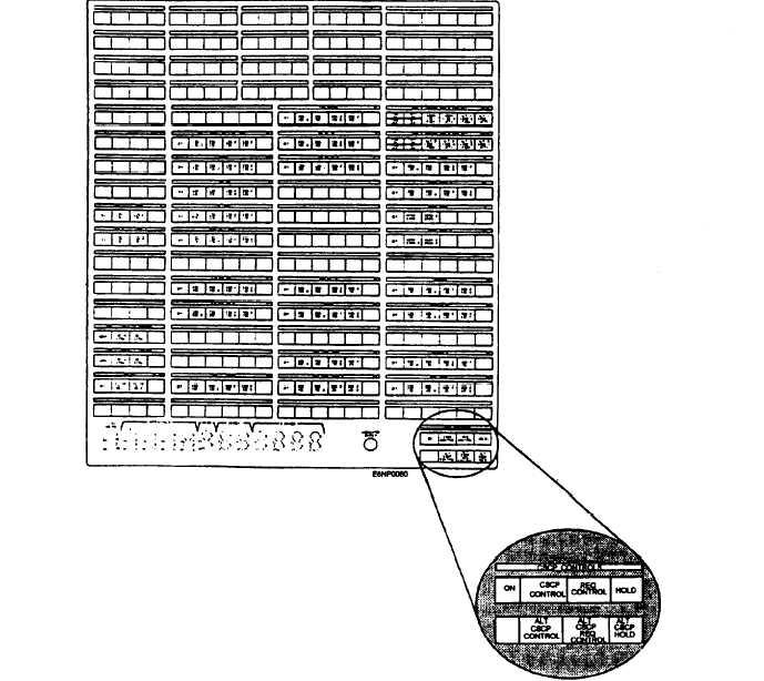 Figure 5-14.-CSCP controls and Indicators