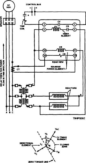 Figure 2-45.--Schematic wiring diagram of an ac reverse