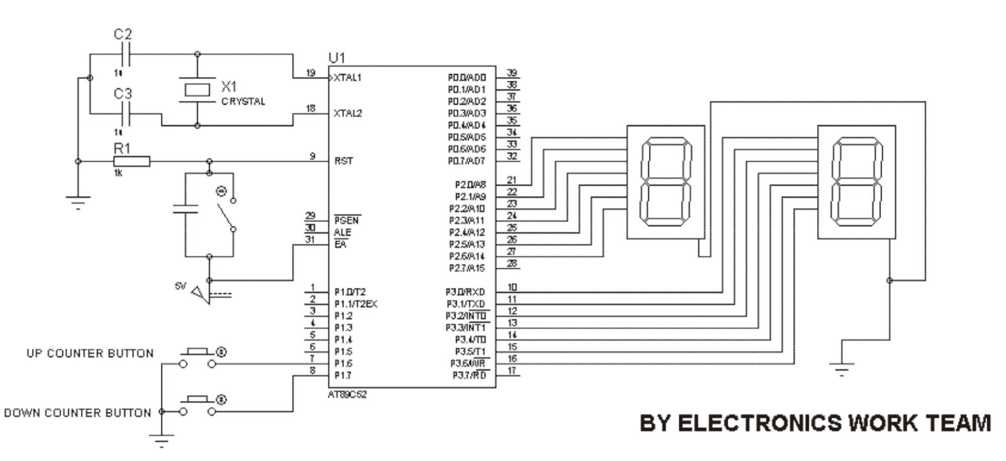 hight resolution of in this circuit 2 seven segment