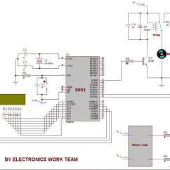 Water Level Indicator Project With Circuit Diagram Mercury Outboard Motor Parts Automatic Controller  Electronicswork