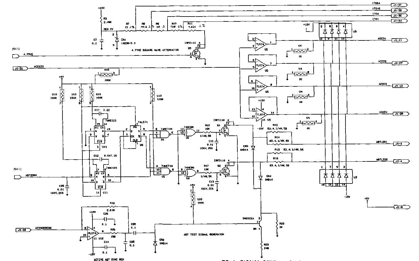 FO-1. SIGNAL GENERATOR SCHEMATIC DIAGRAM (SHEET 2 OF 4)