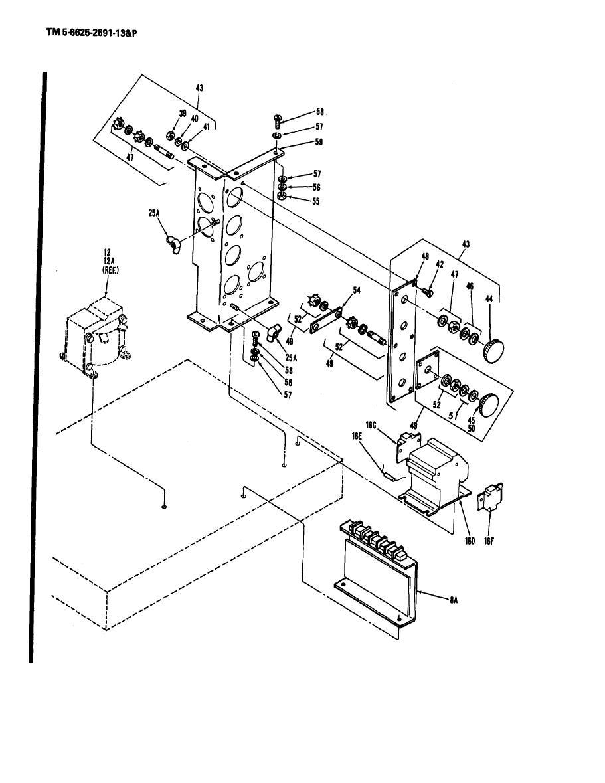 Figure B-3. Sensing module, control transformer, and