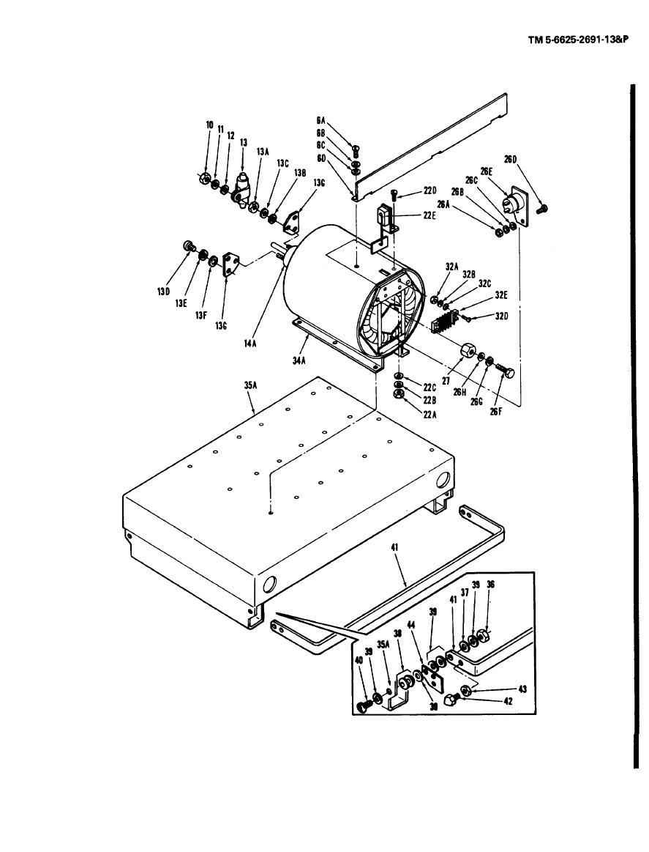 Figure B-4. Power absorber, fan motor, and load module