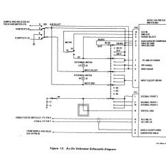 Digital Voltmeter Wiring Diagram Example Of Sequence With Explanation Ac Circuit