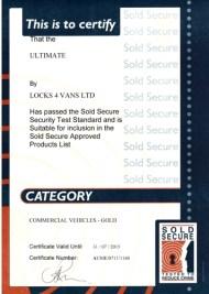 certificat gold sold secure
