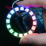 Anillo NeoPixel - 16 x LED RGB WS2812 5050 - Drivers Integrados-00