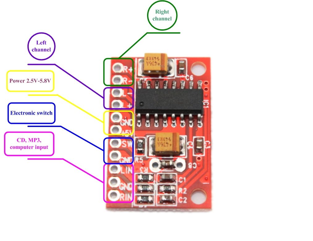 Click On The Circuit Diagram For A Bigger Picture The Values Of