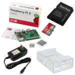 Kit Raspberry Pi 3 Básico - Starter Pack_white