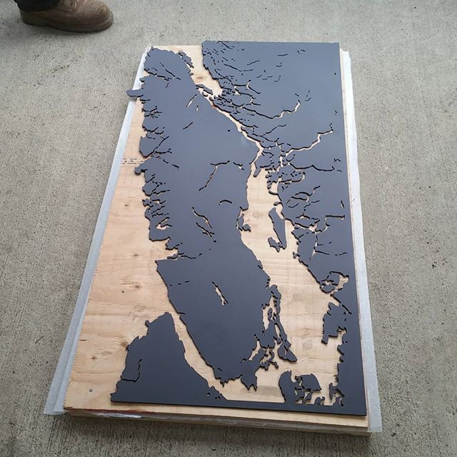 Matte black 4' Vancouver Island