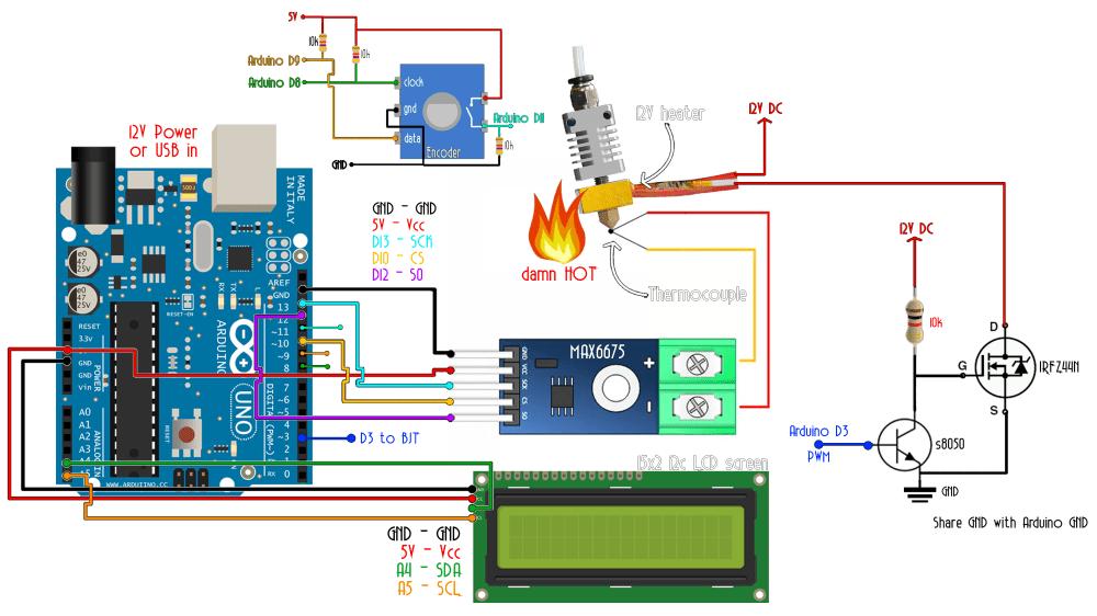 medium resolution of pid arduino temperature schematic