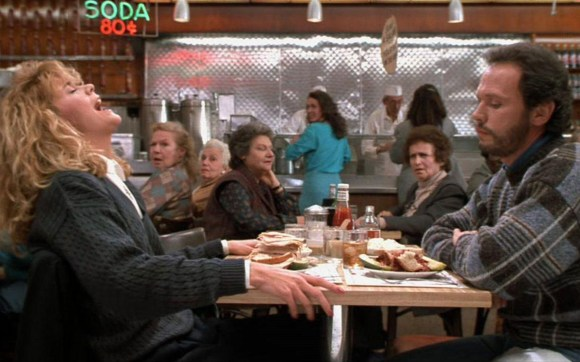 "Scene from ""When Harry Met Sally"""