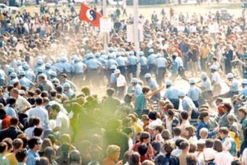 Police Line Attack