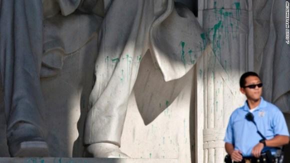 Lincoln Vandalism