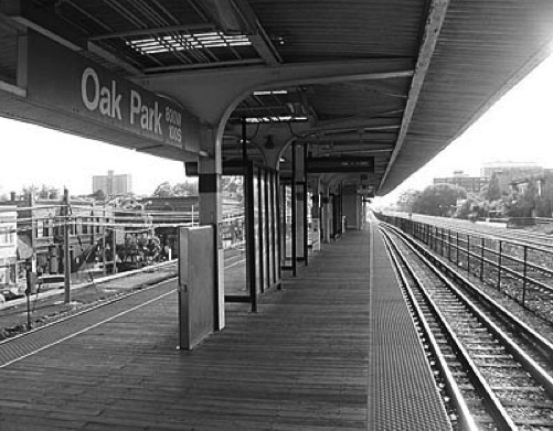 CTA/Oak Park Avenue