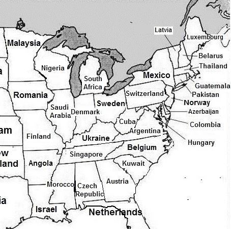 AEI Map