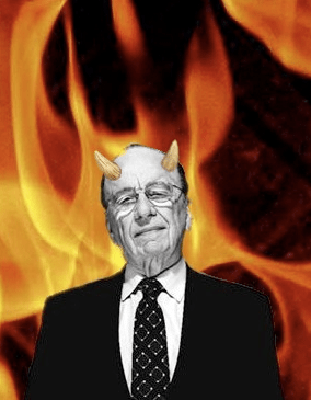Murdoch as the Devil