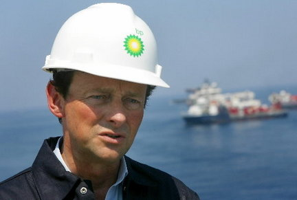 BP CEO Tony Hayward