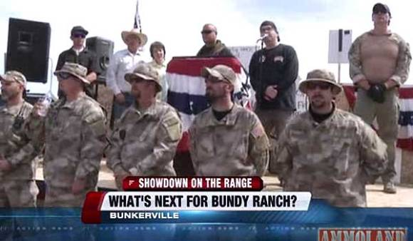 Militia at Bundy Ranch
