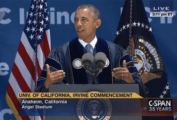 Obama/UC-Irvine