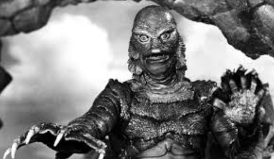 "From ""The Creature from the Black Lagoon"""