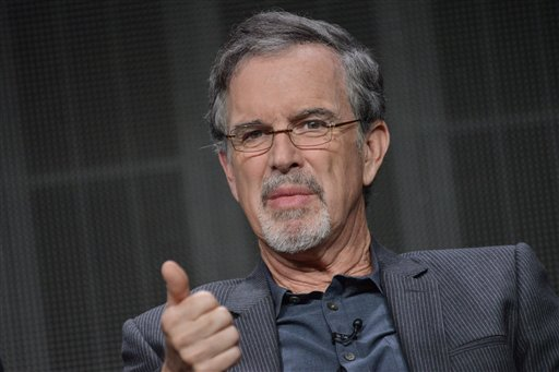 "Garry Trudeau speaks onstage during the ""Alpha House"" panel at the Amazon 2014 Summer TCA on Saturday, July 12, 2014, in Beverly Hills, Calif. (Photo by Richard Shotwell/Invision/AP)"