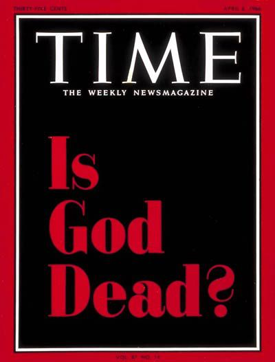 is-god-dead-time-magazine-cover